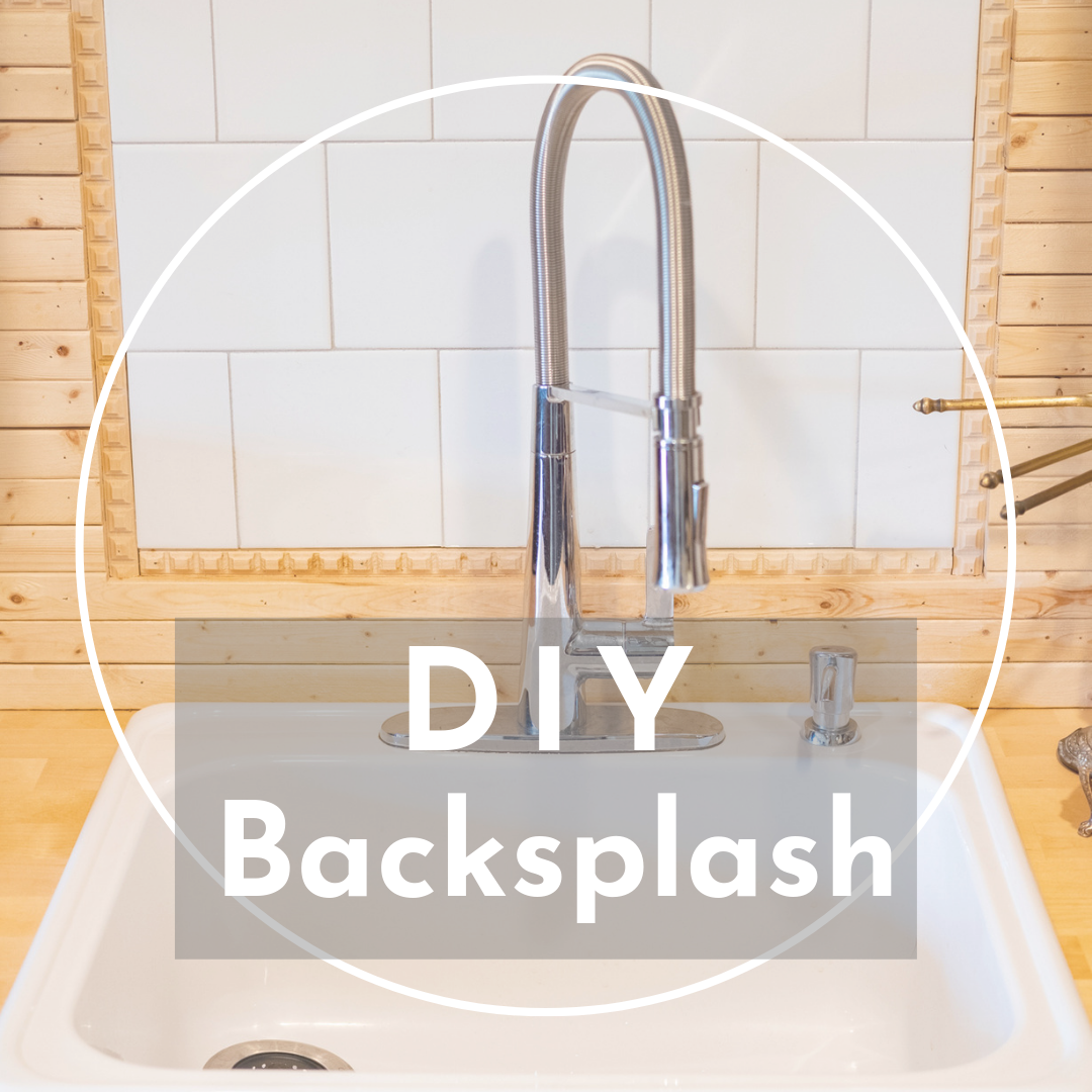 Kitchen Backsplash DIY